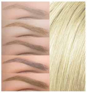Matching Your Eyebrow Color to Your Hair Color